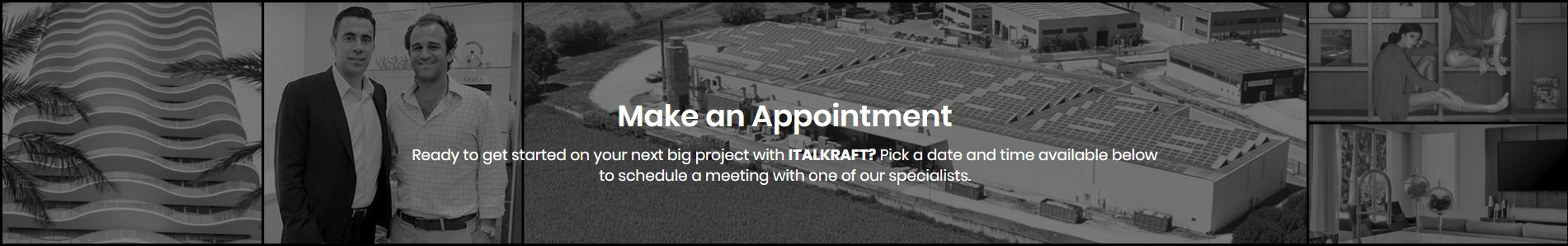make an appointment italkraft nyc